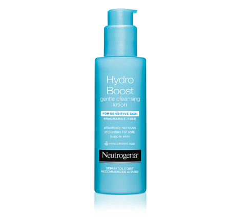 Hydro Boost Gentle Cleansing Lotion bottle