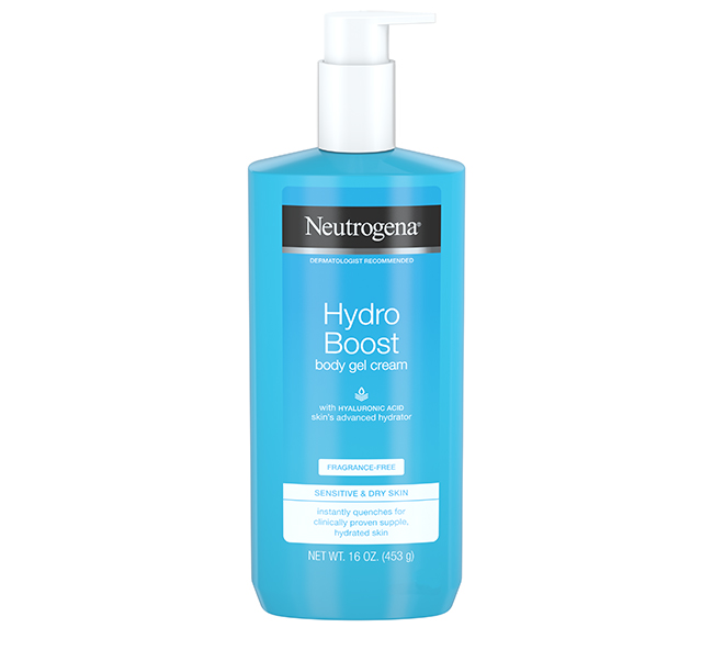 Hydro Boost Body Gel Cream bottle