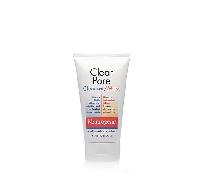 Clear Pore Cleanser/Mask tube