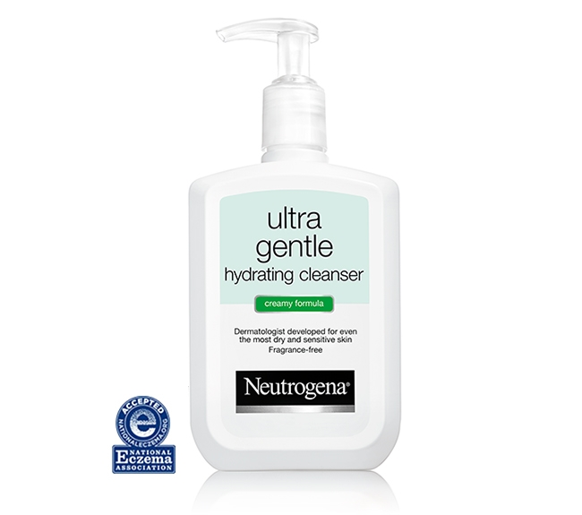 Ultra Gentle Hydrating Cleanser bottle