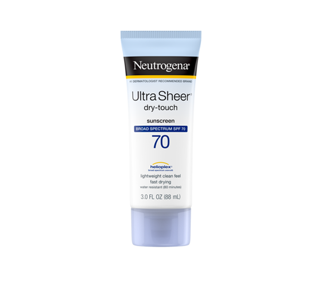 Ultra Sheer Dry Touch SPF 70 tube