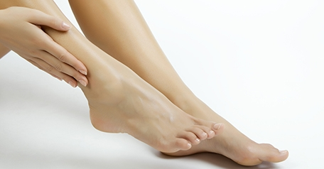 Image of a woman's legs