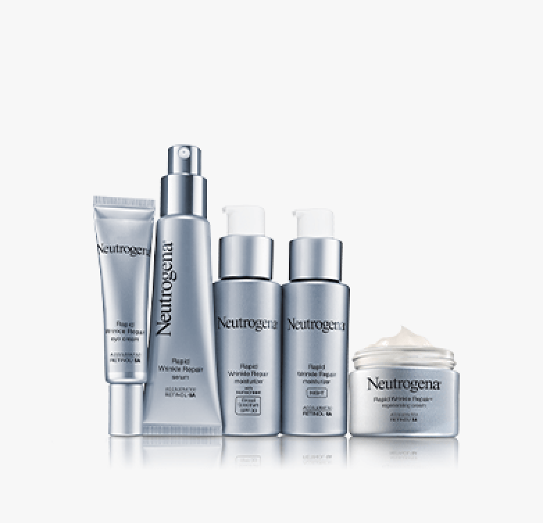 Rapid Wrinkle Repair products together